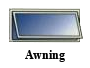 Awning window, window replacement, window options, window types