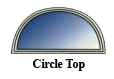 CircleTop window, window replacement, replacement windows, window options