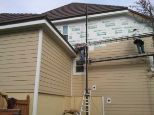 Siding Installation, James Hardie Siding, Siding, The Woodlands, Texas, Spring, Conroe