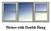 Picture DoubleHung