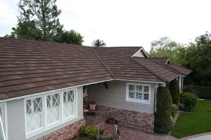 Decra Shake XD Antique Chestnut Stone Coated Roof Houston Texas Home Exteriors