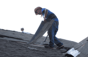 roofing crew removing old roof